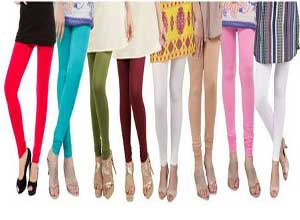 Dailywear Poly-viscose Leggings - Pack Of 8