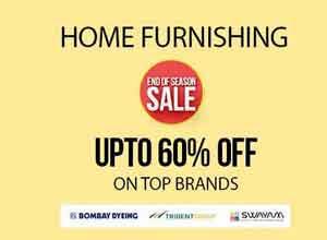 Home Furnishing upto 60% Off