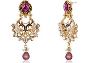 Ava Traditional Drop Earrings for Women