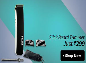 Slick Professional Beard SHT 5000 BL Trimmer For Men