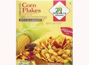 24 Mantra Organic Corn Flakes 300G