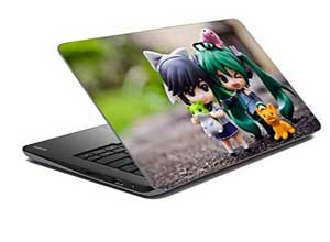meSleep Animated Boy Girl Laptop Skin