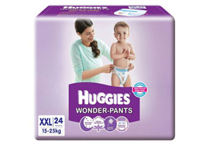 Huggies Wonder Pants Double Extra Large Size Diapers