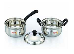 Pigeon Stainless Steel Cookware Set 3 Pieces