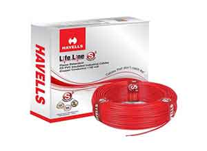 Havells Lifeline Cable 1.5 sq mm wire
