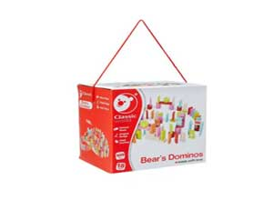 Classic World Bear's Love Letter Dominos
