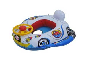 Happy Kids Inflatable Plastic Swimming Boat