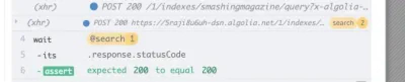 Assertion on API response