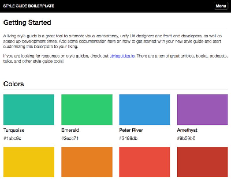 Promouvoir la cohérence et la pensée modulaire avec un guide de style