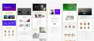 Tilda provides ready-made templates for landing pages, online stores, etc. Save time by using predesigned store templates.