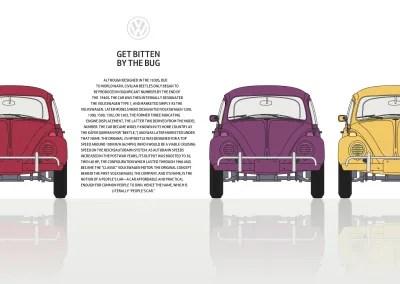 CSS Shapes sculpt text into this delicious design.
