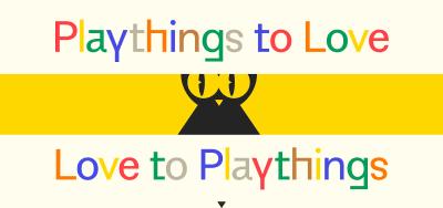 Capture d'écran de la page d'accueil du site Web de Kotak Toys