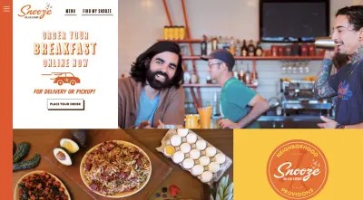 Snooze Eatery online delivery or pickup