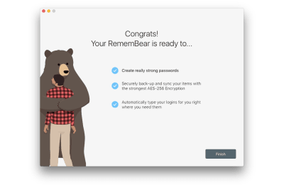 Mascots in UI: RememBear