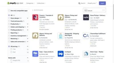 Résultats de l'App Store de Shopify pour «BOPIS»