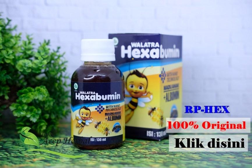 Walatra Hexabumin 100% Asli Original Penambah Nafsu Makan Anak Penggemuk Badan Anak Madu dan Albumin Harga Murah di Apotik