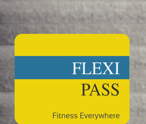 My Flexi Pass – Fitness Everywhere!
