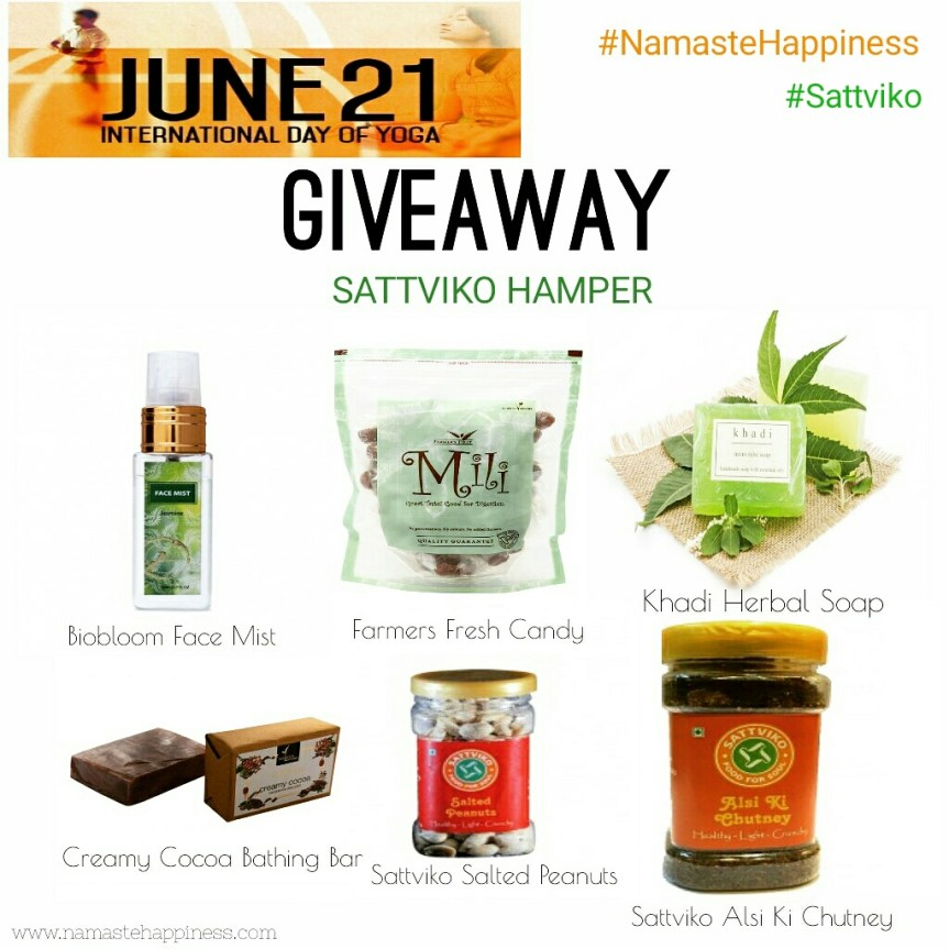 giveaway yoga day
