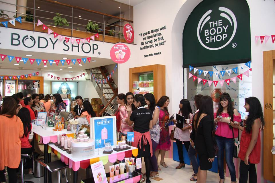 The body shop sorbet