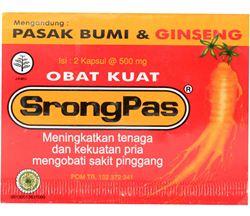 StrongPas Obat Penambah Hormon Testosteron di Apotik