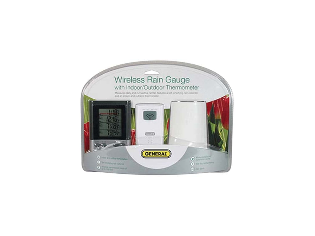 General Tools Rgr126 Wireless Rain Gauge With Temperature
