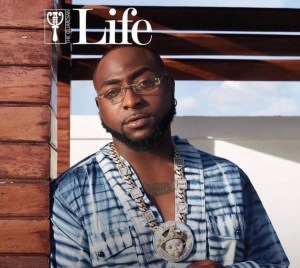 Davido Appears On The Guardian Cover Page