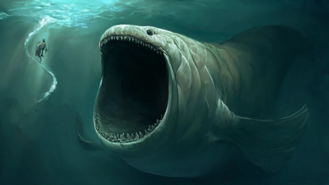 Scary Real Ness Loch Monster