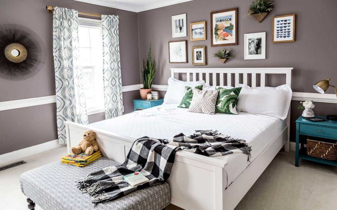 Our Modern Boho Master Bedroom Reveal | Kate Decorates on Boho Master Bedroom Ideas  id=53131