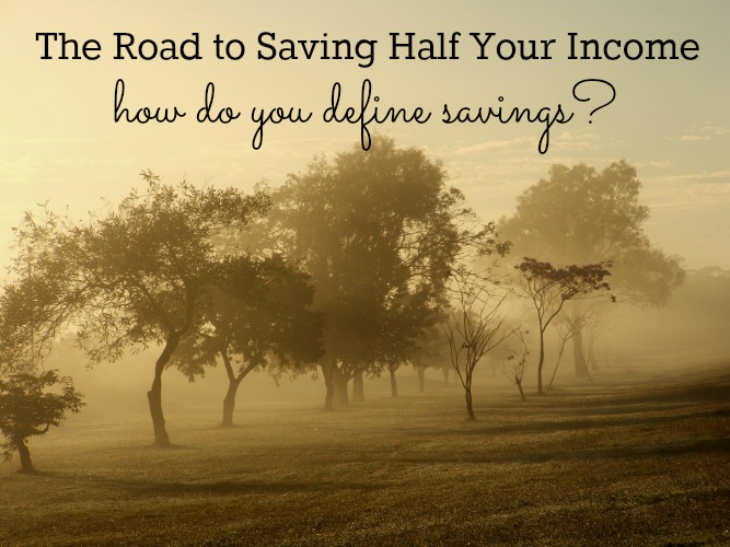 How do you define savings?
