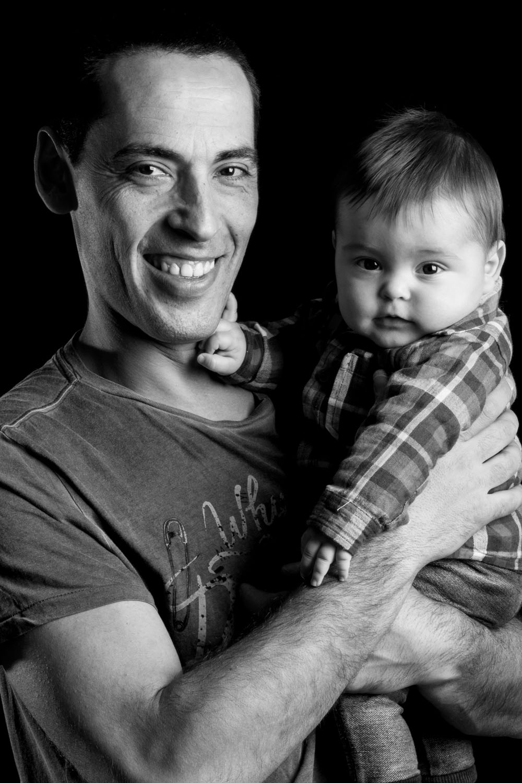 kidsfoto.es Sesión fotografía bebé 6 meses Leo Zaragoza