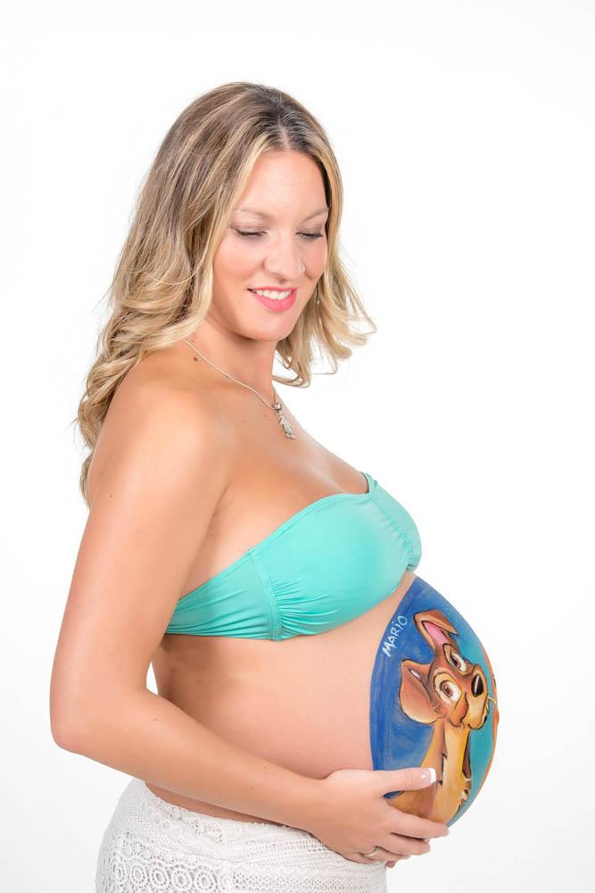 kidsfoto.es Fotografía Premamá Embarazo Bodypaint