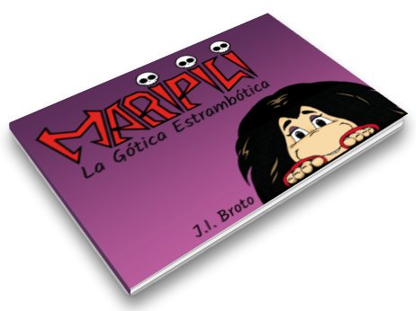 kidsfoto.es Proyecto Verkami  - Maripili, la gótica estrambótica- Cómic para niños y no tan niños.