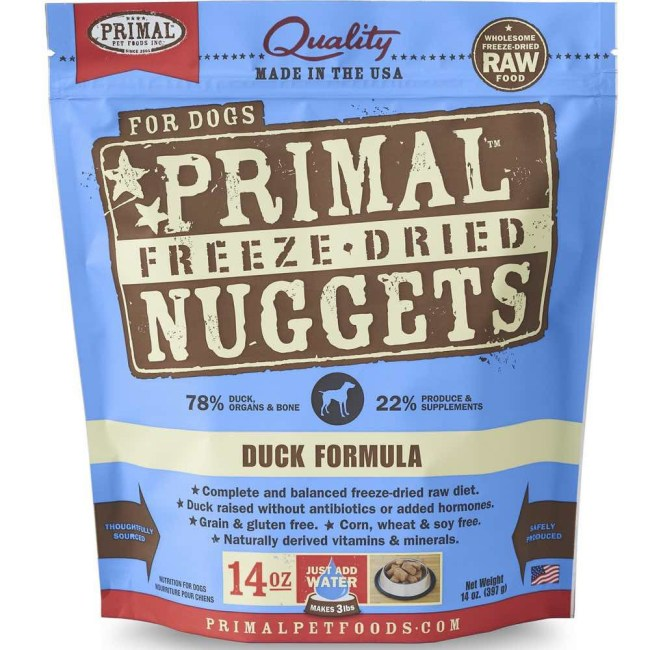 primal-duck-freeze-dried-raw-dog-food