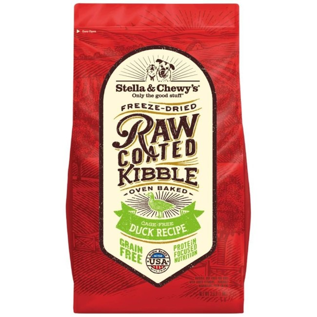 stella-chewys-freeze-dried-raw-coated-kibble-duck-dry-dog-food