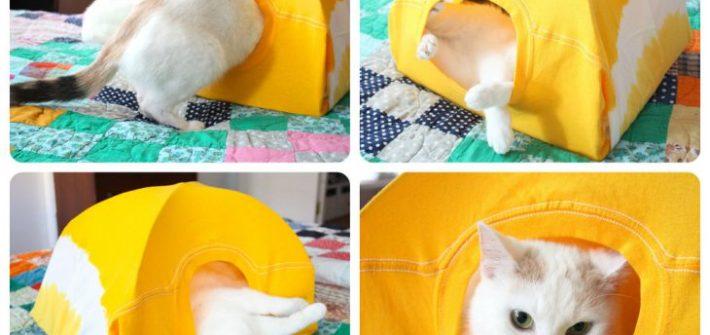 diy cat tent 10