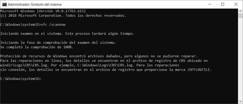Comandos para solucionar la mayoría de los problemas de Windows 10 2