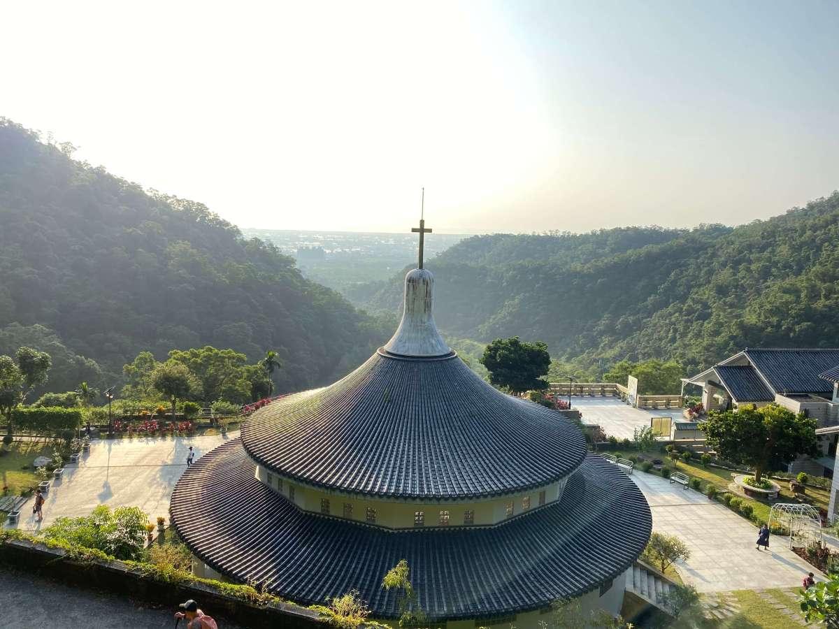 宜蘭聖母山莊朝聖地