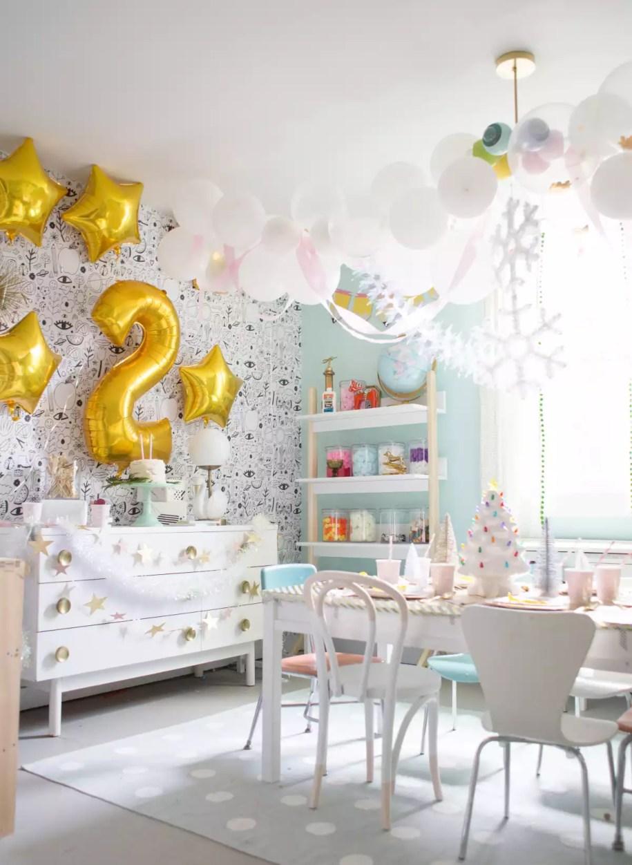 Easy Golden Birthday Party Ideas - Lay Baby Lay