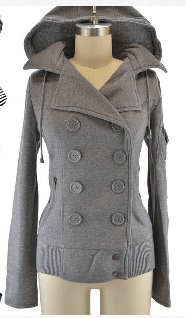 Style blogging grey jacket