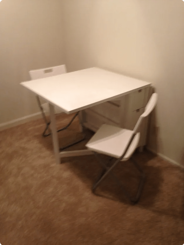 Blurry Table