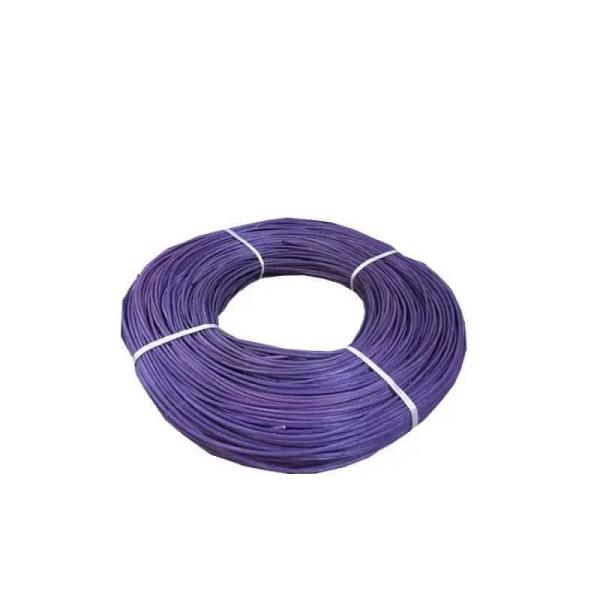Moelle de rotin violet