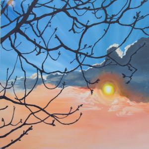 Volcanic sunset