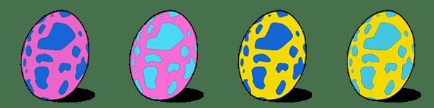Yian Kut-Ku Egg Patterns and Locations Guide Monster Hunter Stories