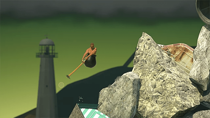 Getting Over It - best indie games for ps4