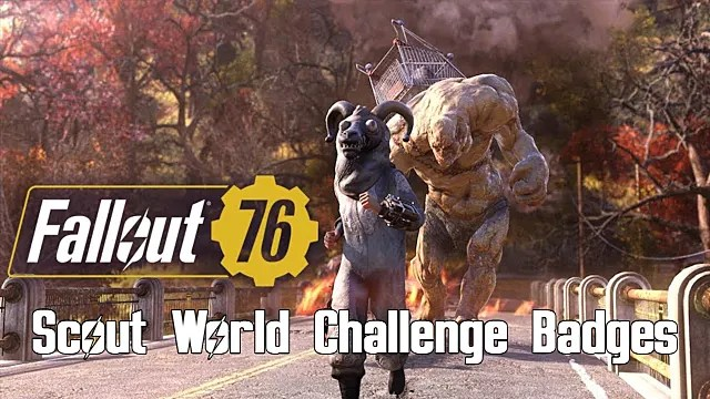 Fallout 76 Scout World Challenge Badge Exam Answers