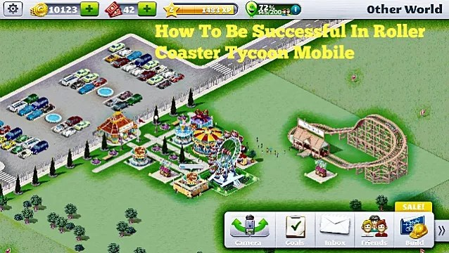 How To Be Successful In Roller Coaster Tycoon Mobile