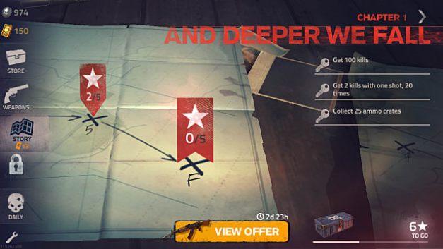 Cómo desbloquear el final del capítulo Final Level Into the Dead 2 Mobile Guide