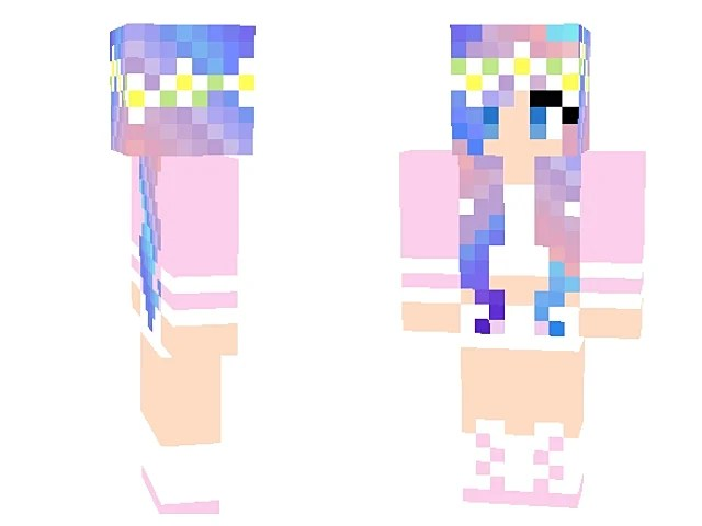 10 Totally Cute Girl Skins For Minecraft Slide 4 Minecraft