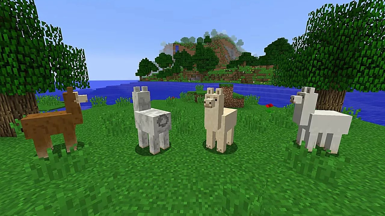 How To Ride Control And Breed Llama In Minecraft 111