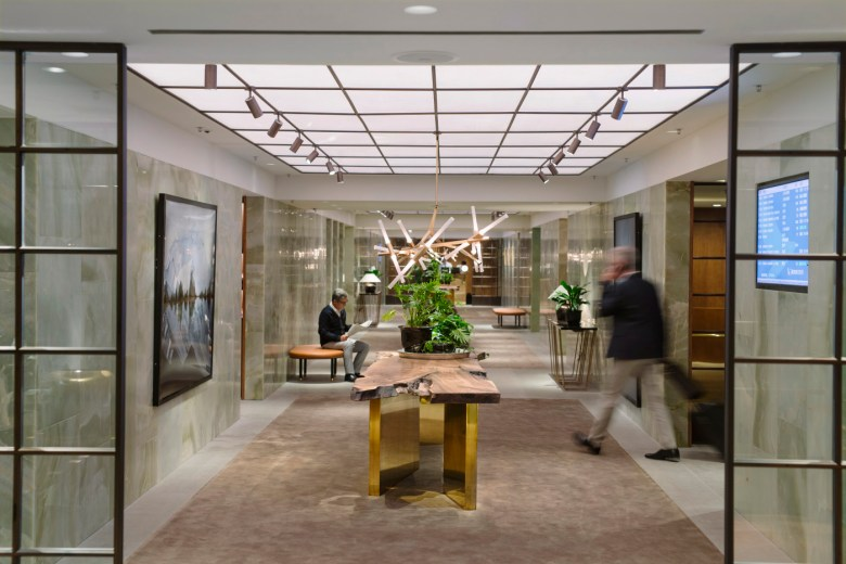 Image result for cathay pacific first class lounge hong kong